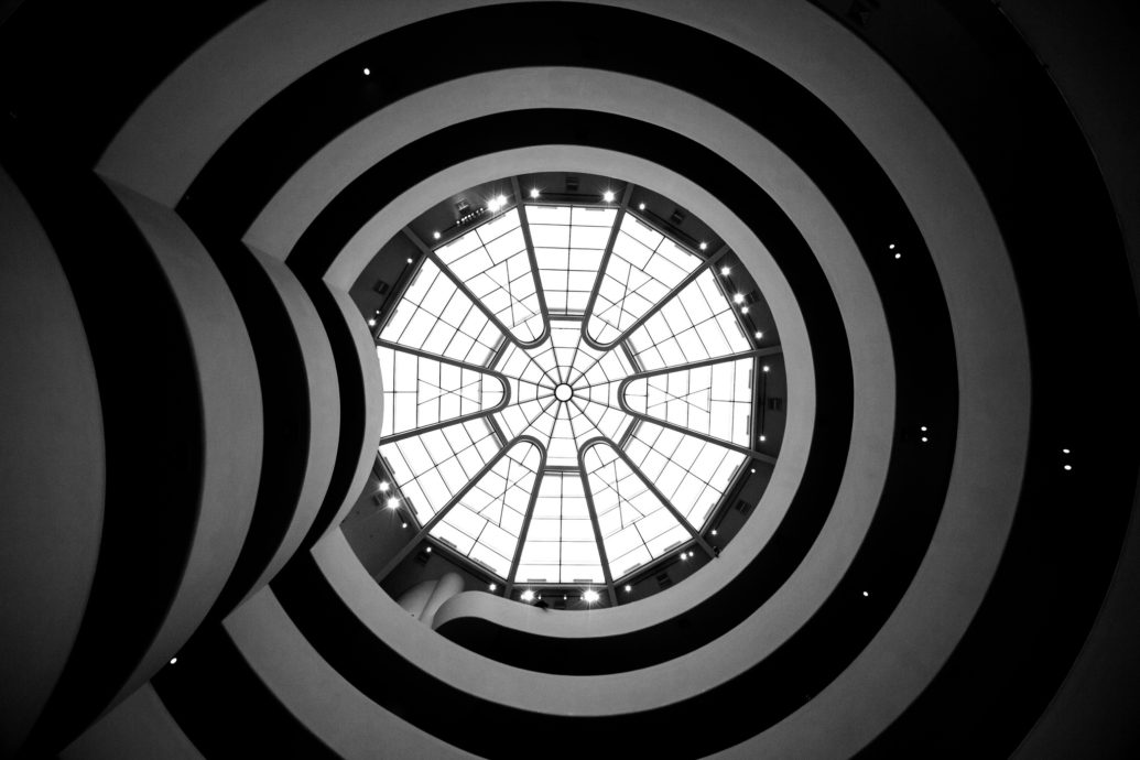 Guggenheim Museum in NYC by Roberto Garcia (Flickr)