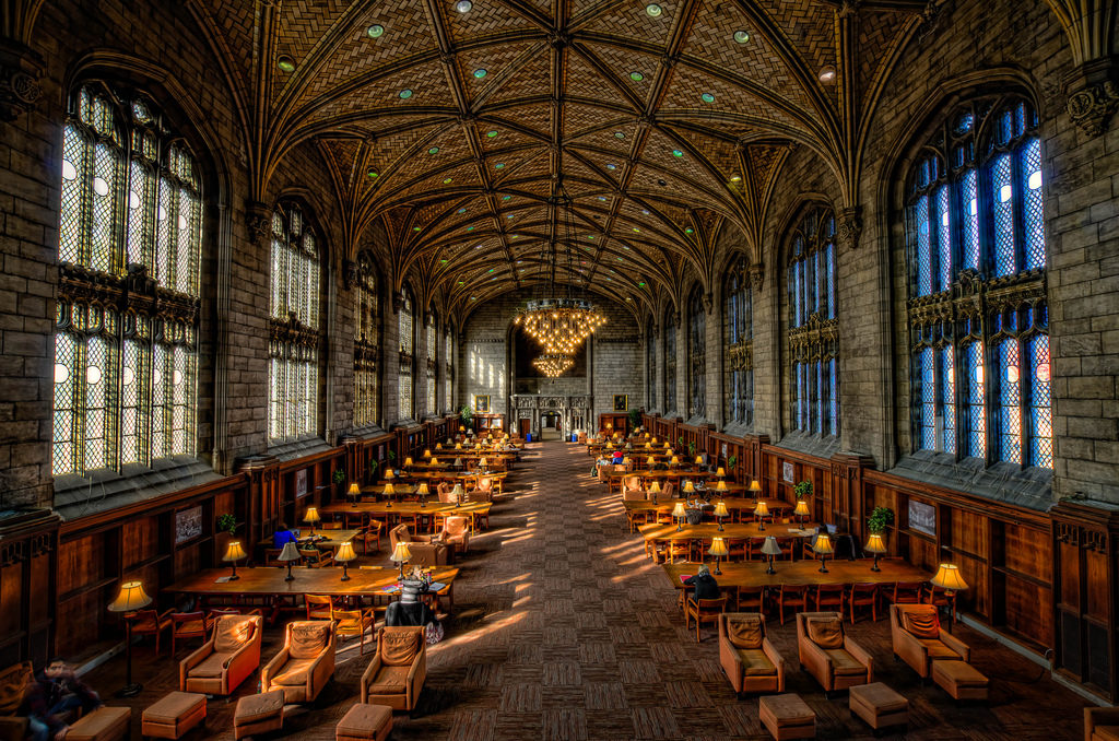 Harper Library, University of Chicago by Rick Seidel (Flickr)