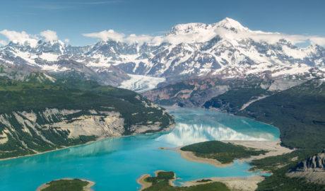 Icy Bay & Mt. St. Elias by Neal Herbert (Flickr)