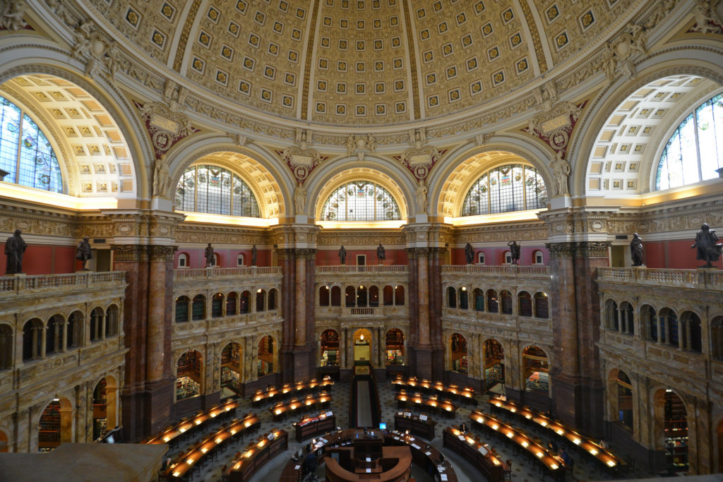 Library of Congress by xiquinhosilva (Flickr)