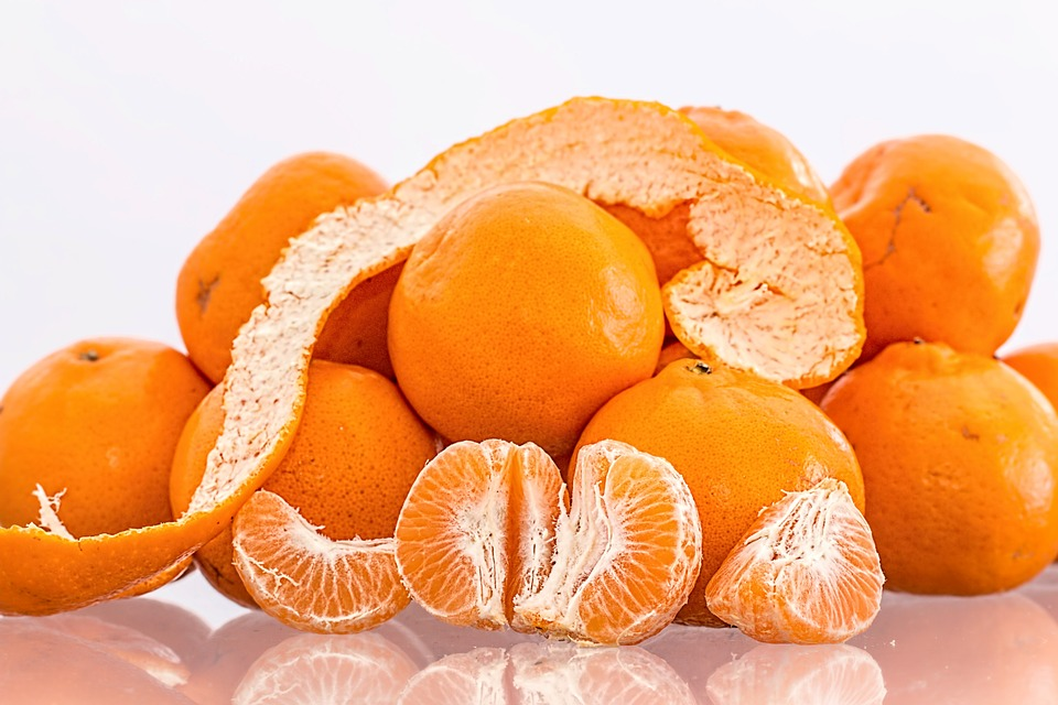 Mandarin Oranges - A Frozen Bit of Heaven